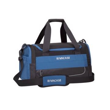 Picture of RivaCase 5235 Mercantour black/blue 30L Duffle bag Σακβουαγιάζ Μαύρο-Μπλε