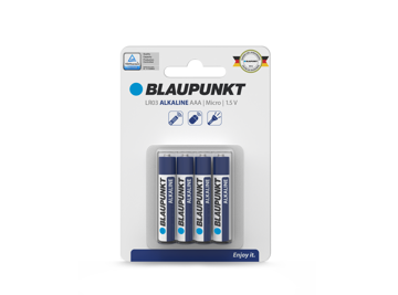 Picture of Blaupunkt Alkaline Performance LR03 AAA 8 pack
