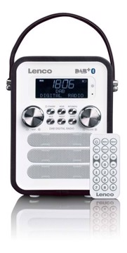 Picture of LENCO RADIO PDR-50 Black Φορητό ραδιόφωνο DAB +
