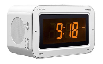 Picture of Radio alarm with LCD screen and 200 stickers