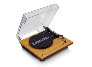 Εικόνα της Lenco LS-10 WOOD Πικάπ με ενσωματωμένα ηχεία